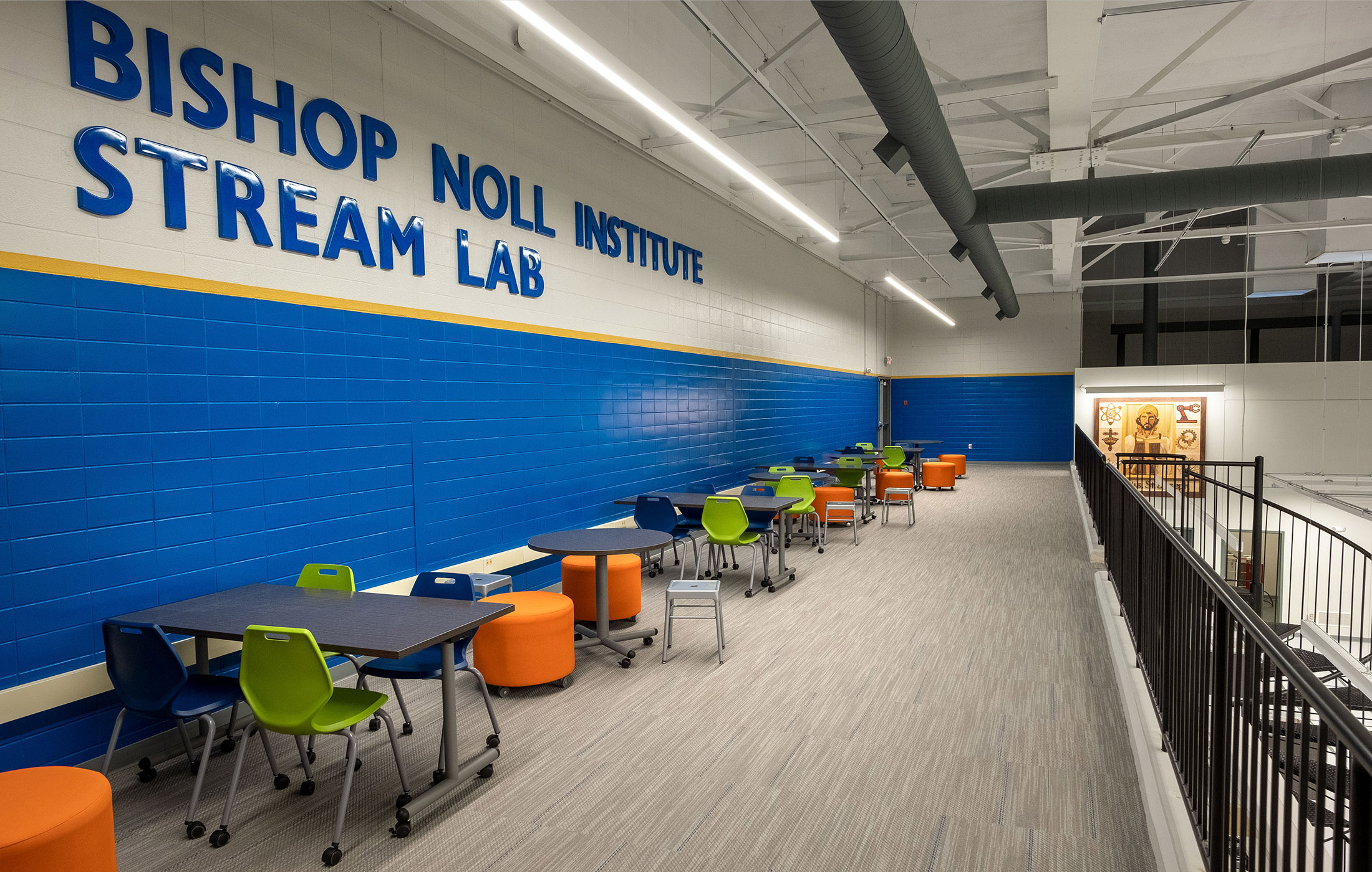 Bishop Noll STREAM Lab Chairs