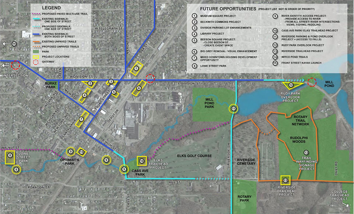 Dowagiac Quality of Life plan rendering