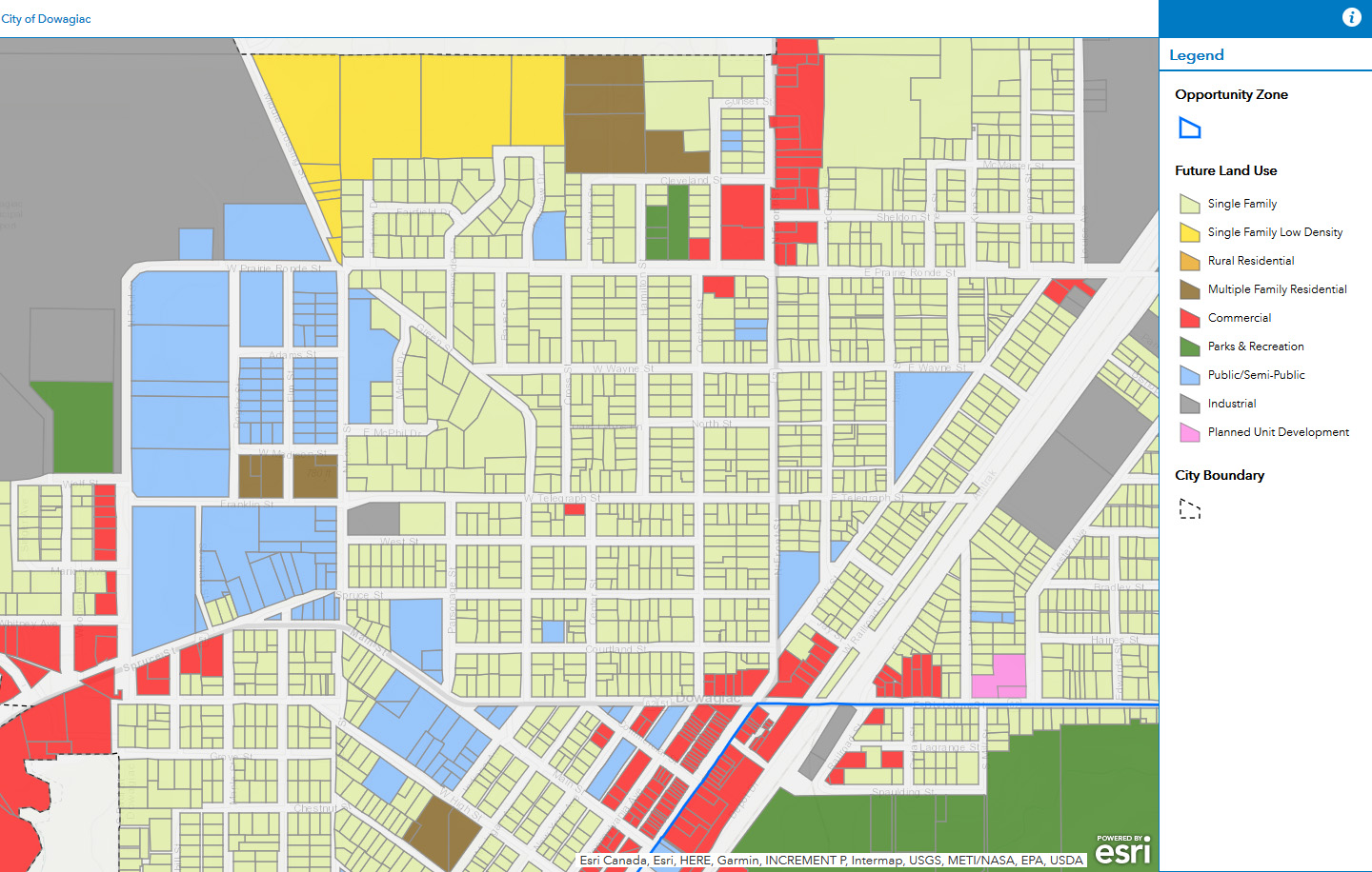 Future Land Use Map Example 2