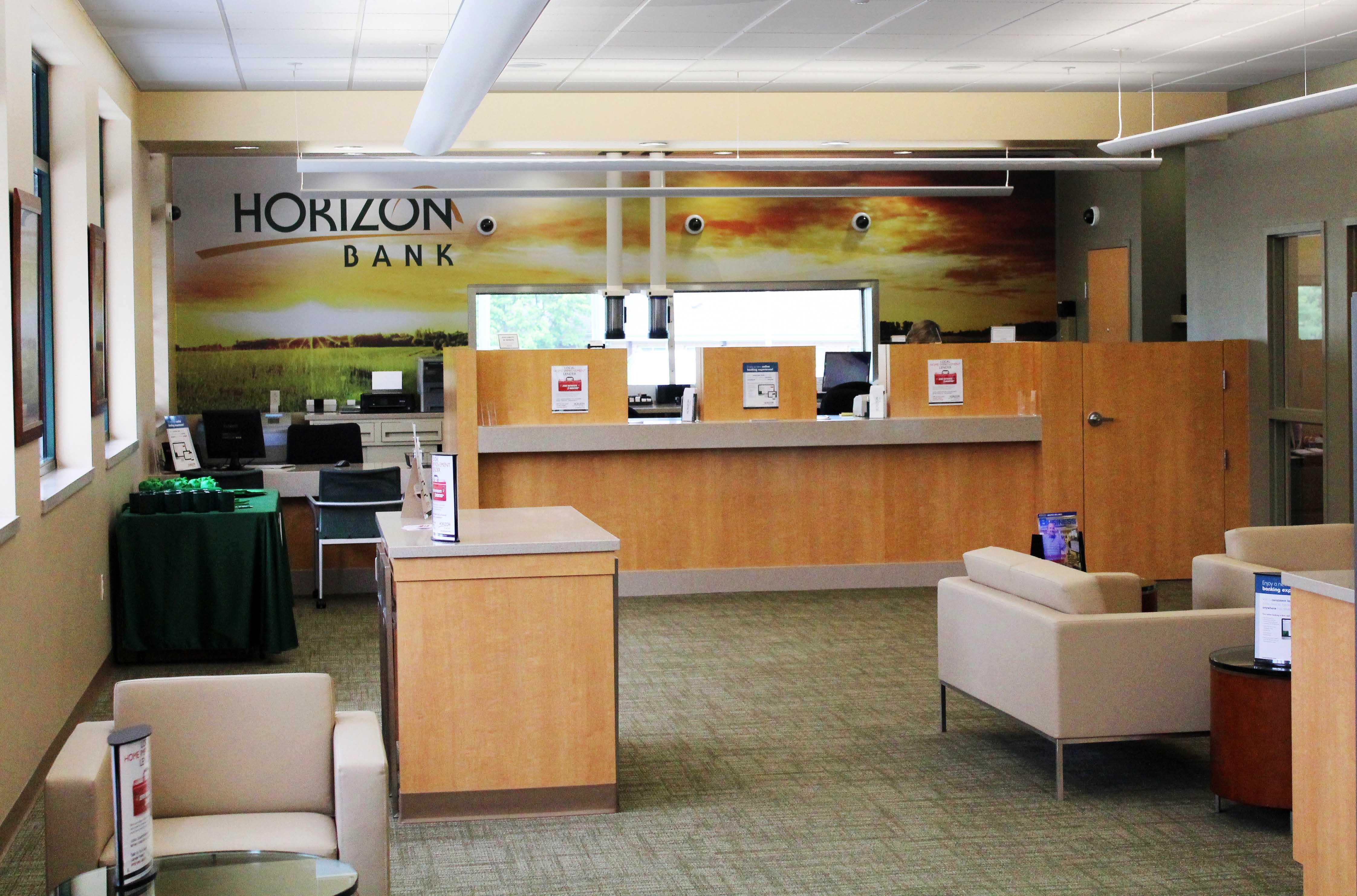 Horizon Bank Carmel interior view