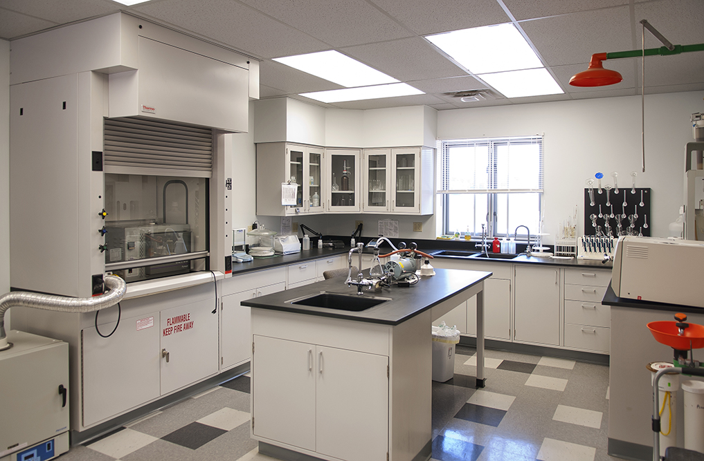 Lakes Area Sewer Authority lab space