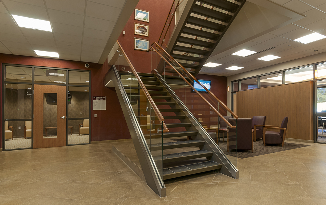 NHBP Government Building Stairs