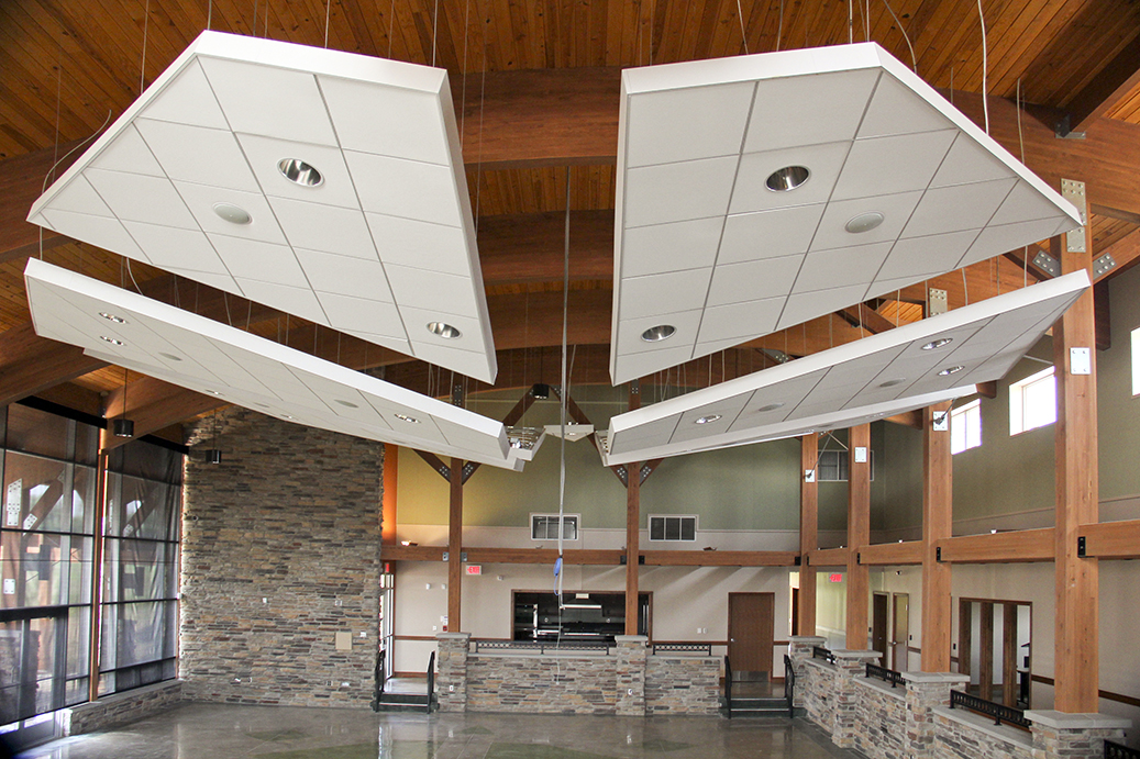 Pokagon Community Center Main Room