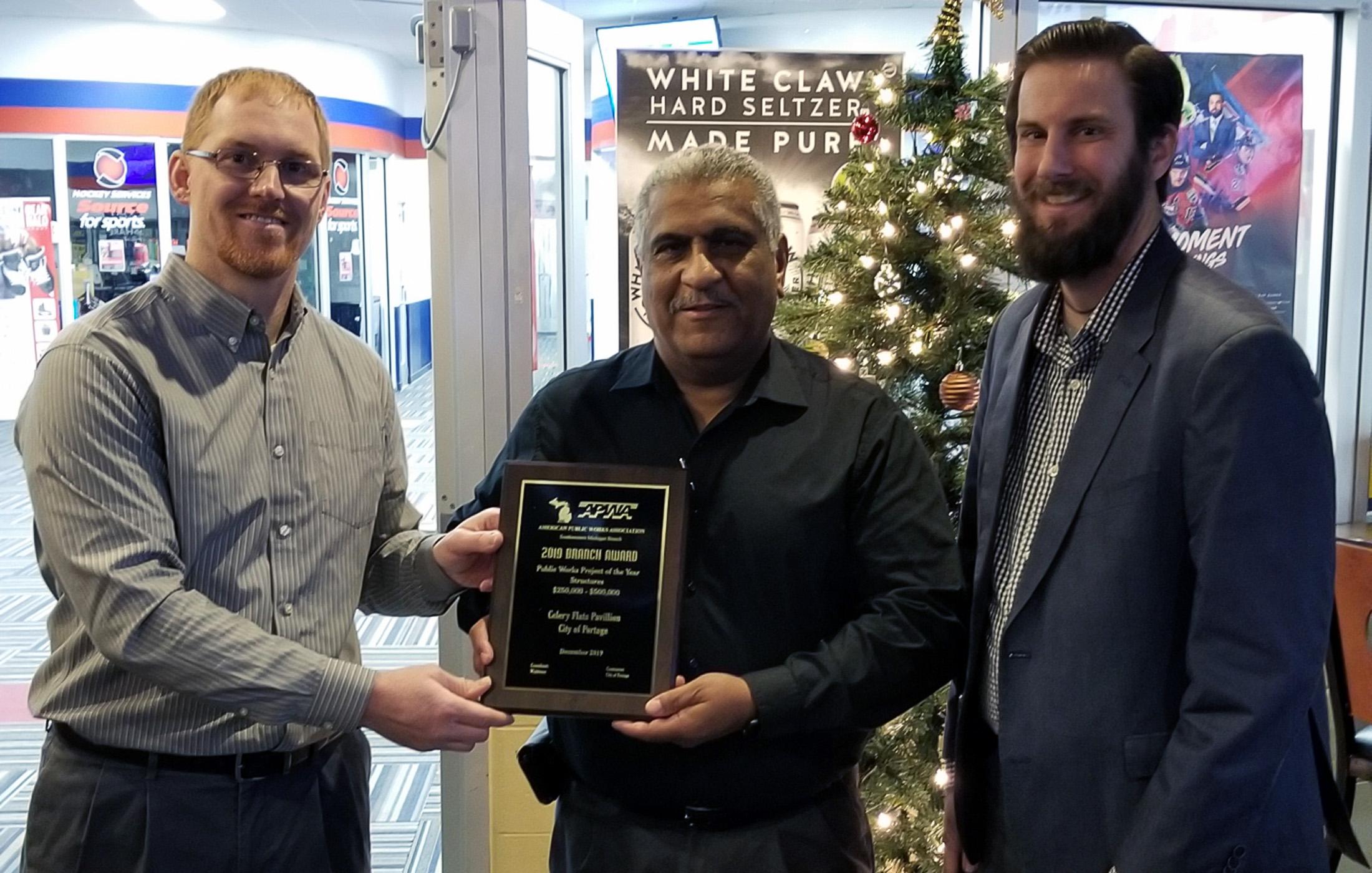 Portage Celery Flats APWA Award Presentation