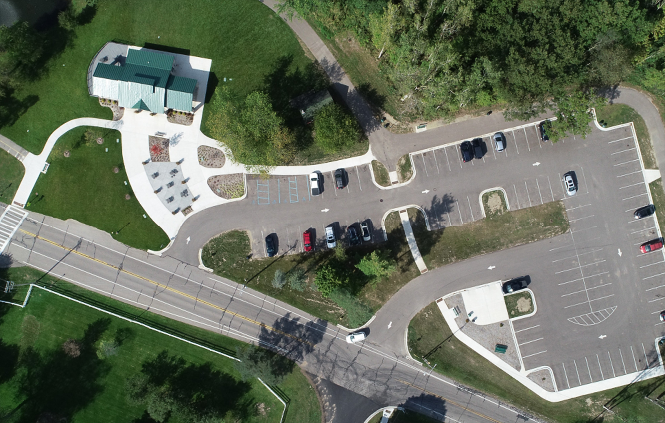 Portage Celery Flats Aerial View