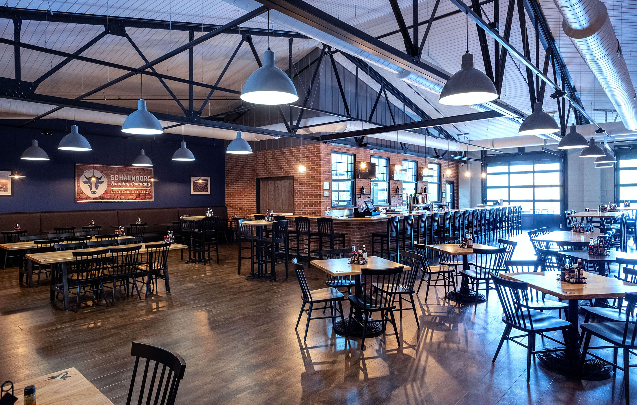 Schaendorf Brewery Seating Tables