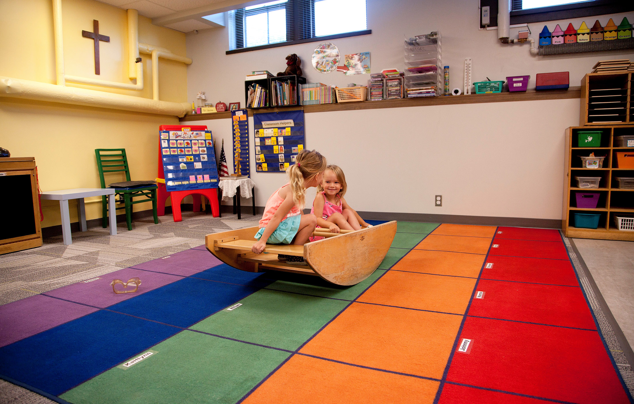 Trinity Lutheran Preschool Play Space