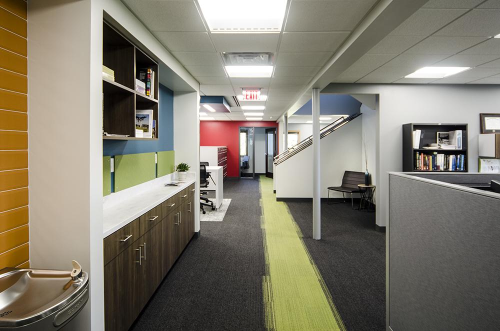 Wightman Allegan office hallway view