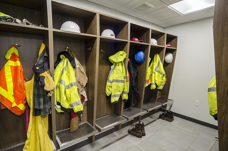 Wightman Allegan Survey Equipment Room