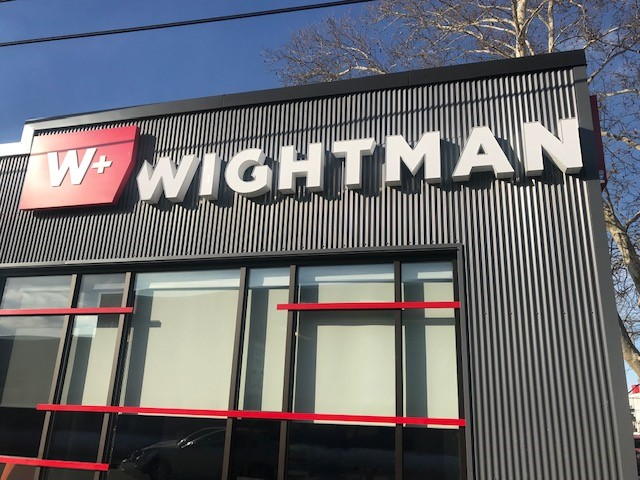 Wightman Kalamazoo Office Exterior Signage