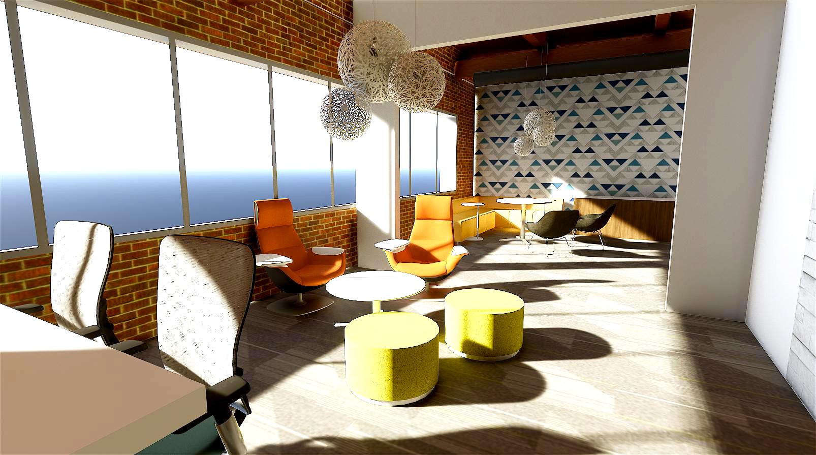 Wightman Kalamazoo medium conference room rendering