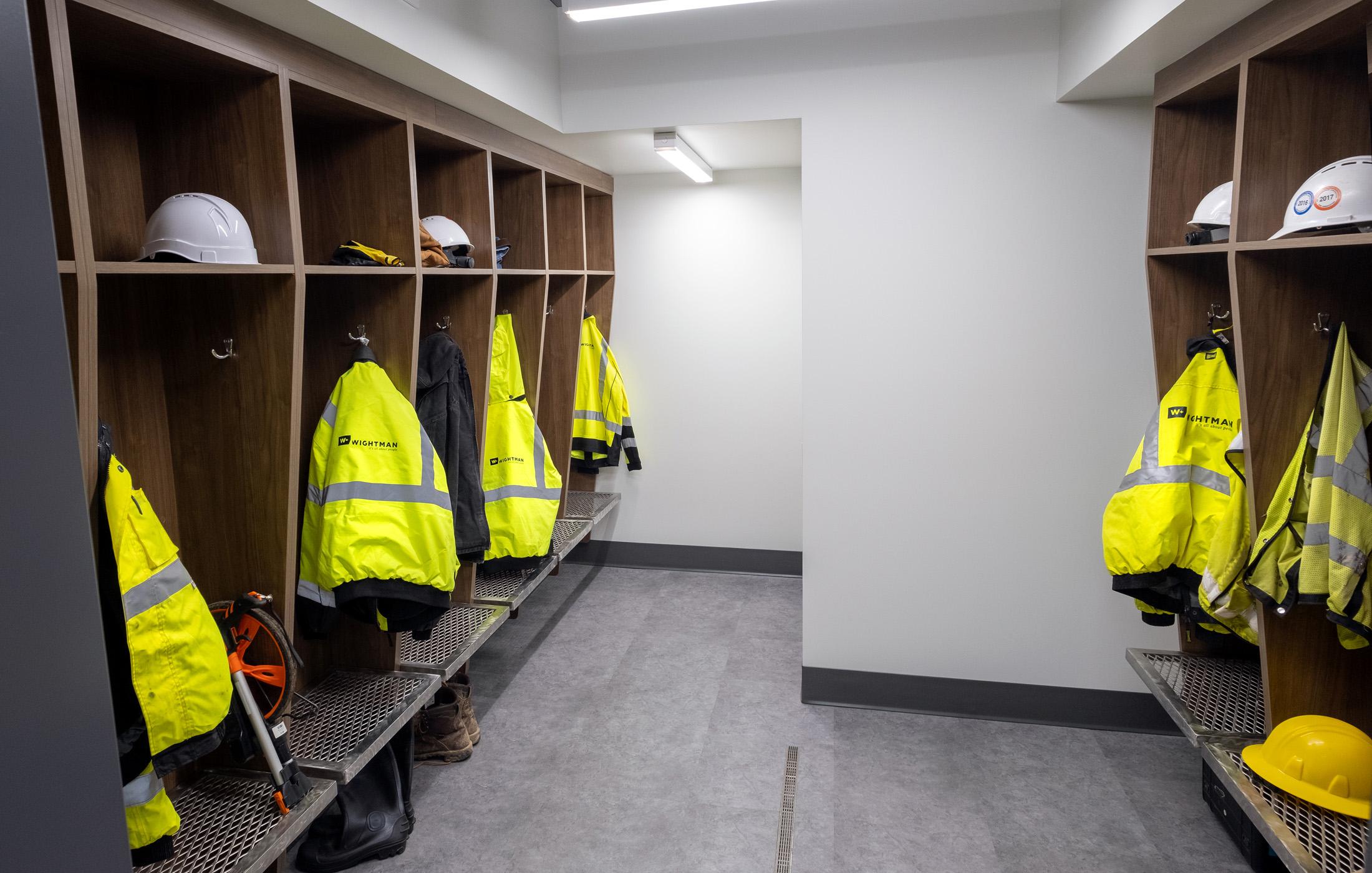 Wightman Kalamazoo survey crew room