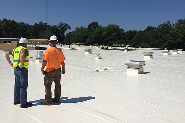Wightman Article: School Construction in an Unprecedented Time, featuring a roof project for Brandywine Schools