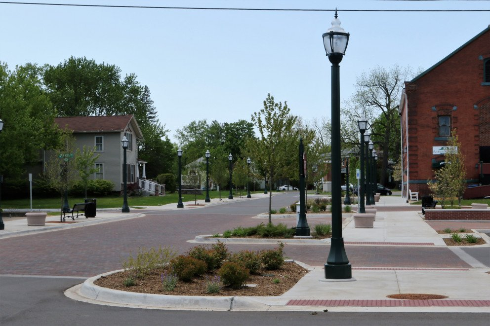Dowagiac Quality of Life street view lightpole