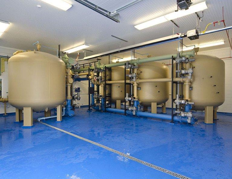 Watervliet Iron Filtration Plant tanks
