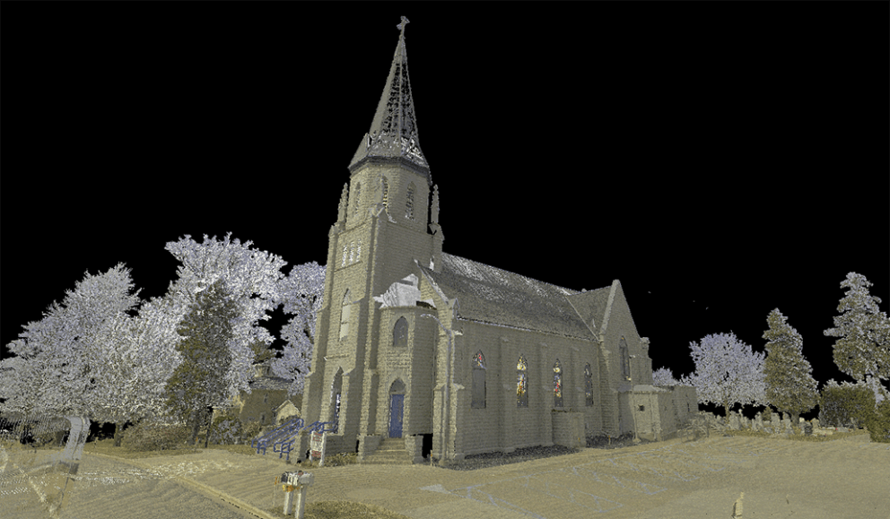 St Marys Church scan