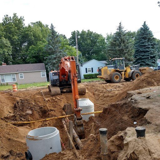 Idaho Avenue Storm Sewer and Water Main Trenches