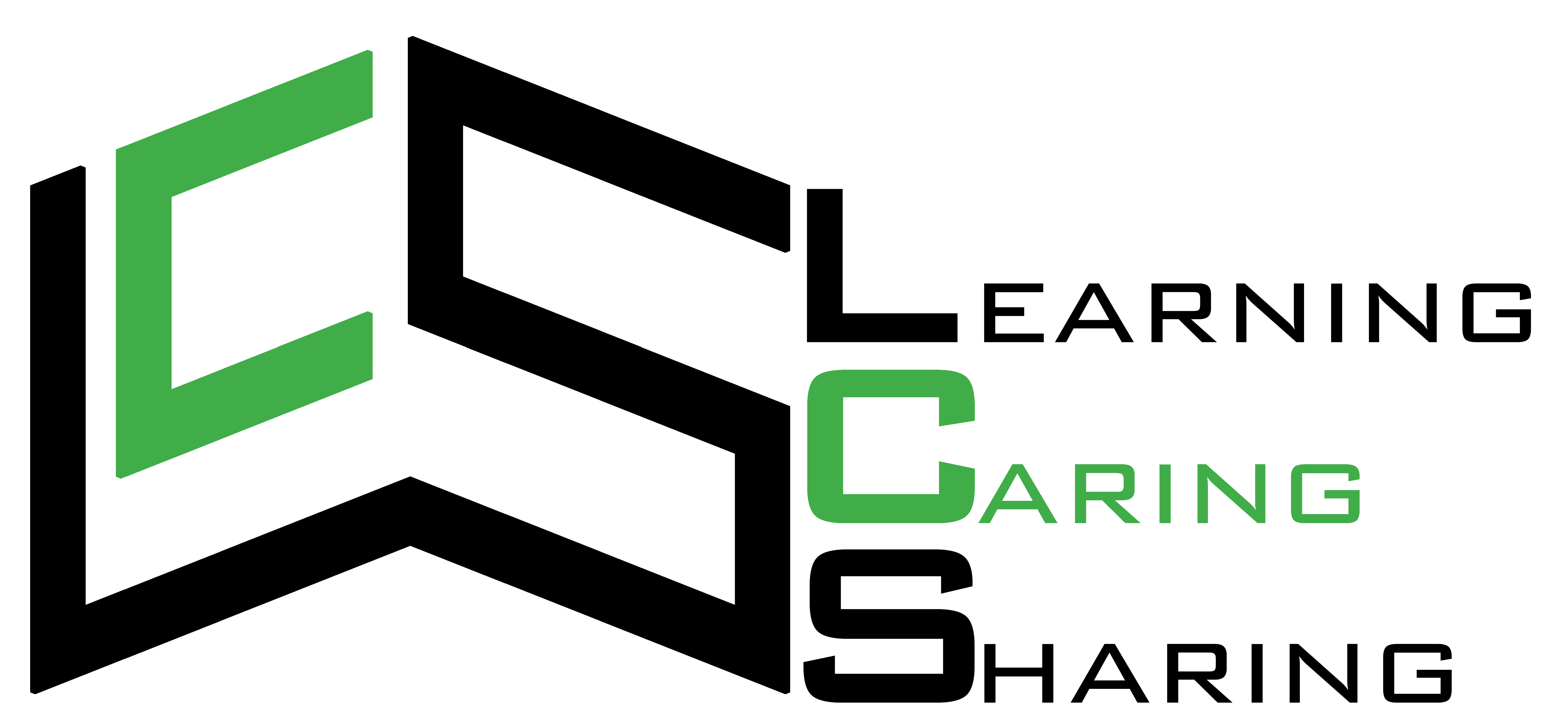 Learning Caring Sharing event logo