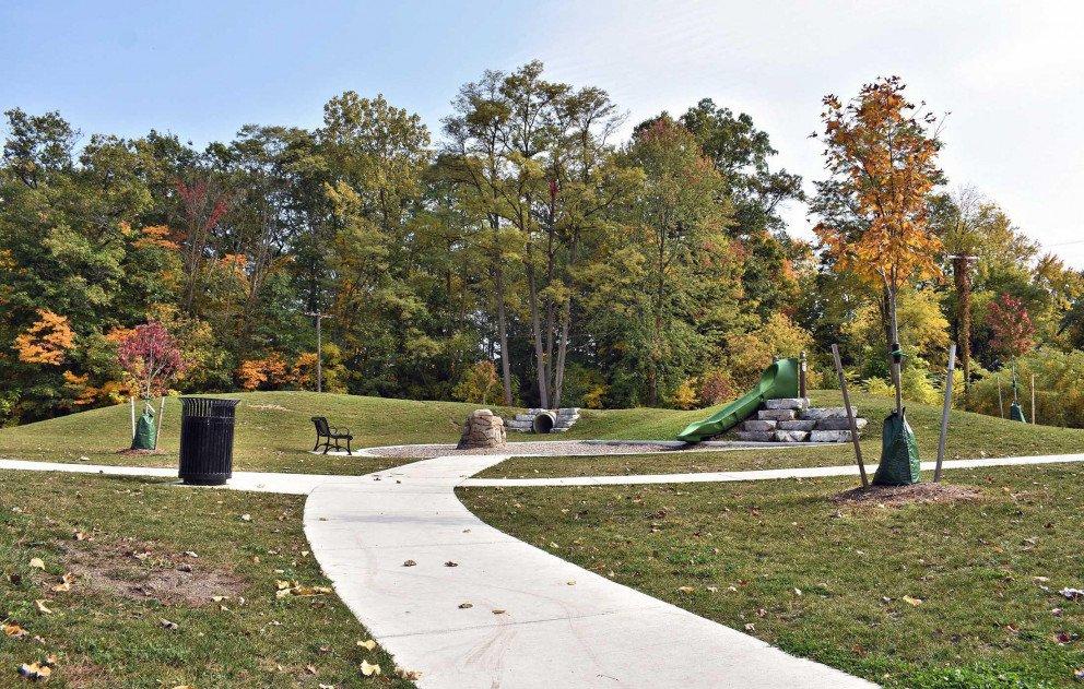 Schuur Park in Fall