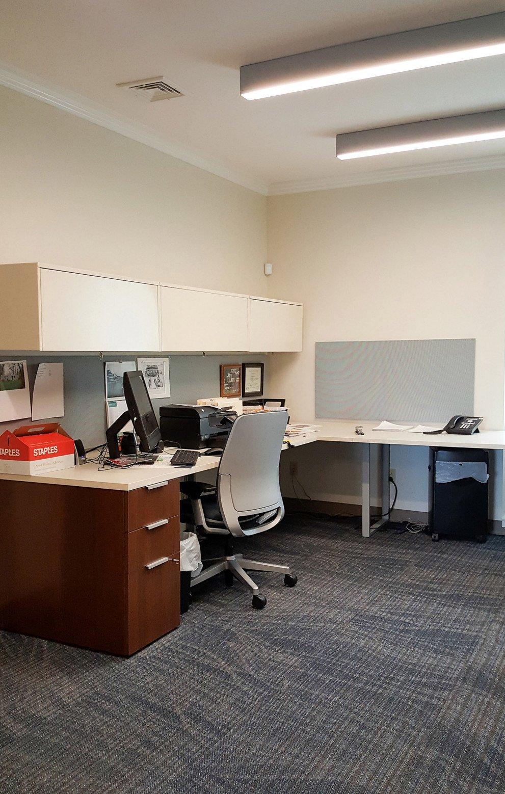 Hartford Twp Hall Office Area