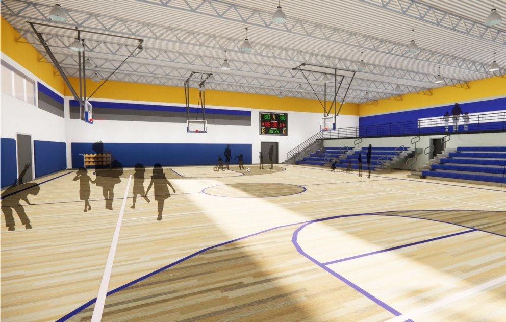 Gymnasium Rendering 2
