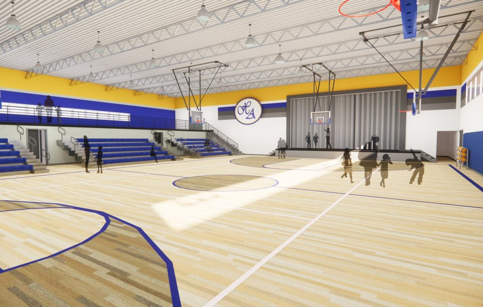 Gymnasium Rendering