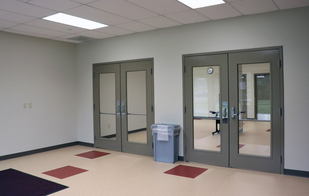 Brandywine Gym Double Door Entrance