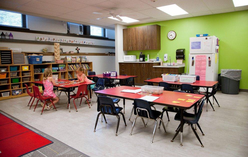 Trinity Lutheran Preschool Study Area