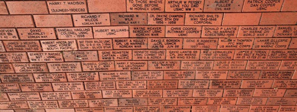 Rose Park brick walkway