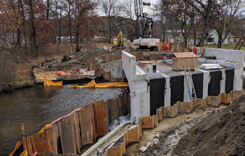 D Drive N Cement Culvert Installation