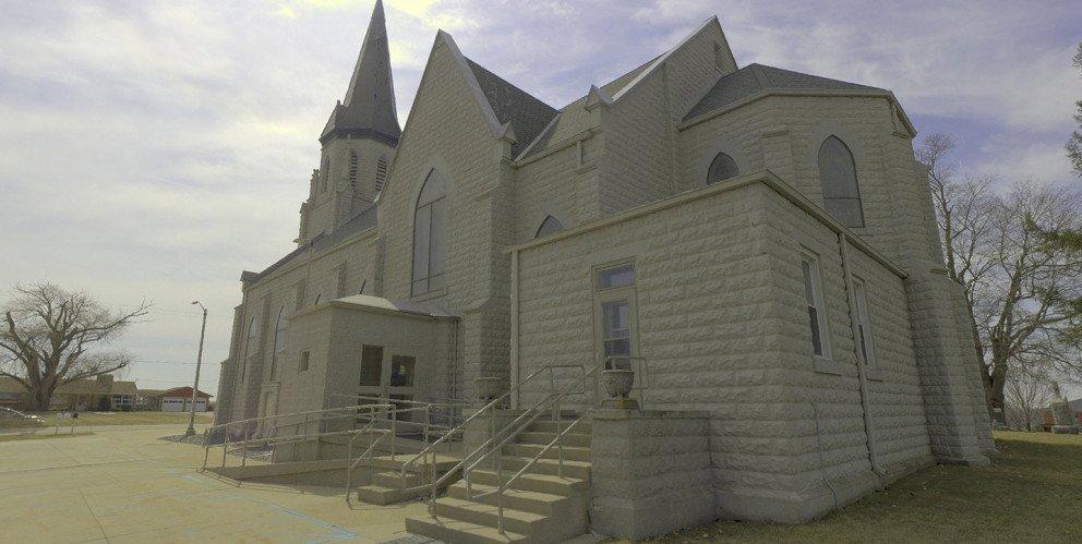 St Marys Church east face