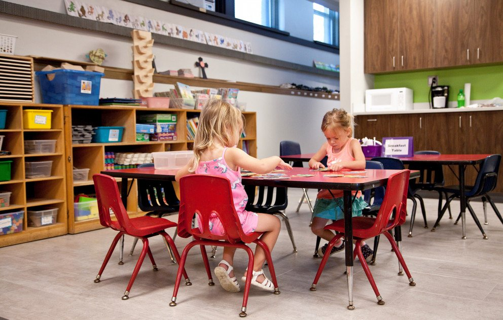 Trinity Lutheran Preschool Work Table