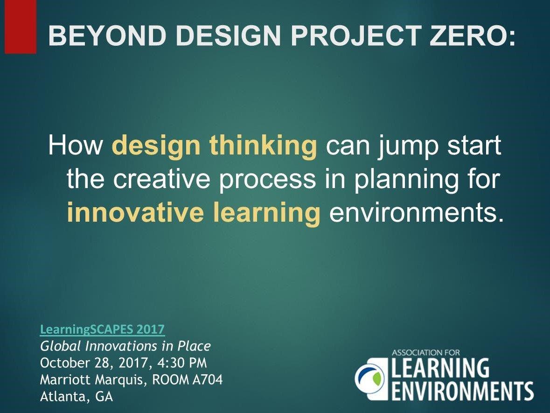 Wightman Beyond Design Project Zero
