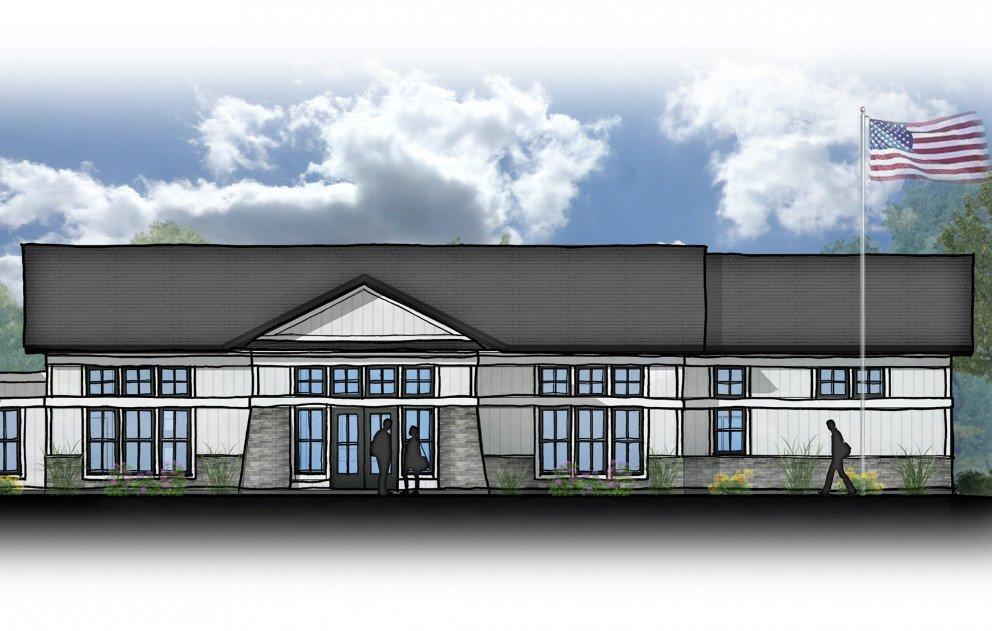 Cass Municipal Building Rendering