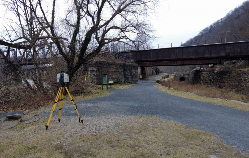 CSX Railway in Harpers Ferry National Park