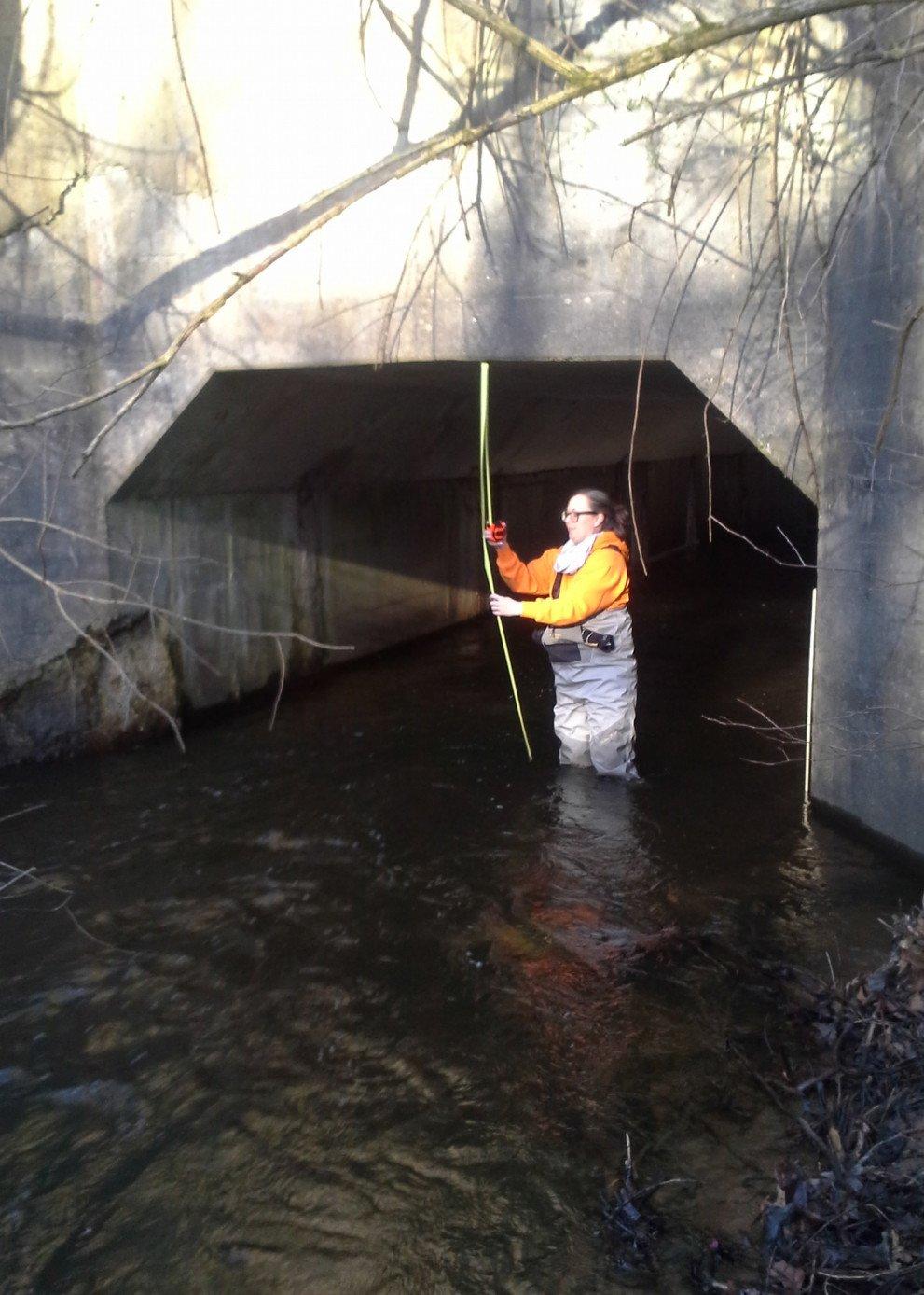 Wightman Suzannah Deneau bridge inspection