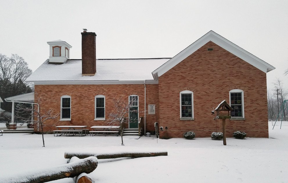 Glenn Public Schools Exterior Rear View