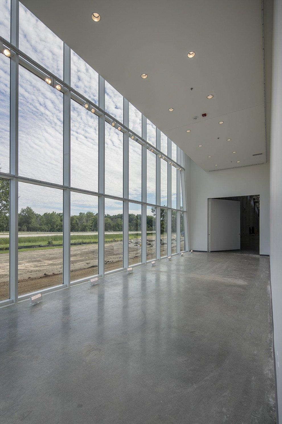 Lane Automotive glass enclosure