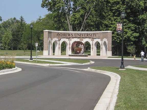 Andrews University Campus Entrance
