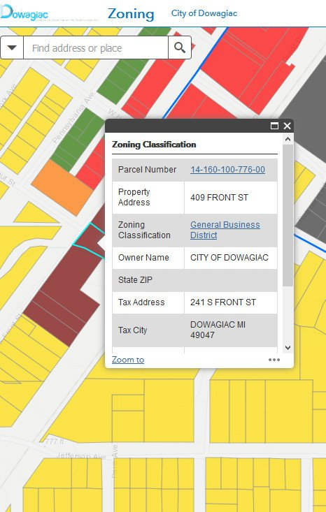 Zoning Map Example 2