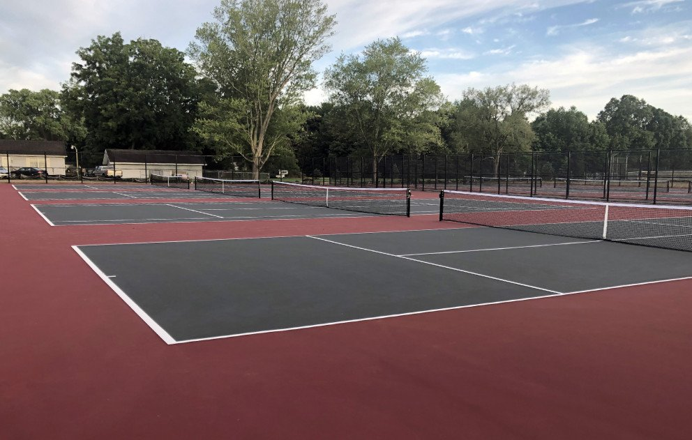 Brandywine Community Schools Completed Tennis Courts