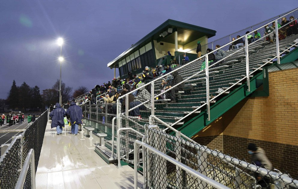 Sylvester Stadium Stands