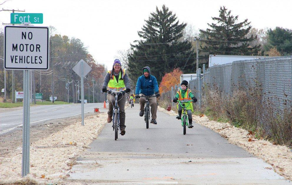 Indiana Michigan Trail Family Bike Ride