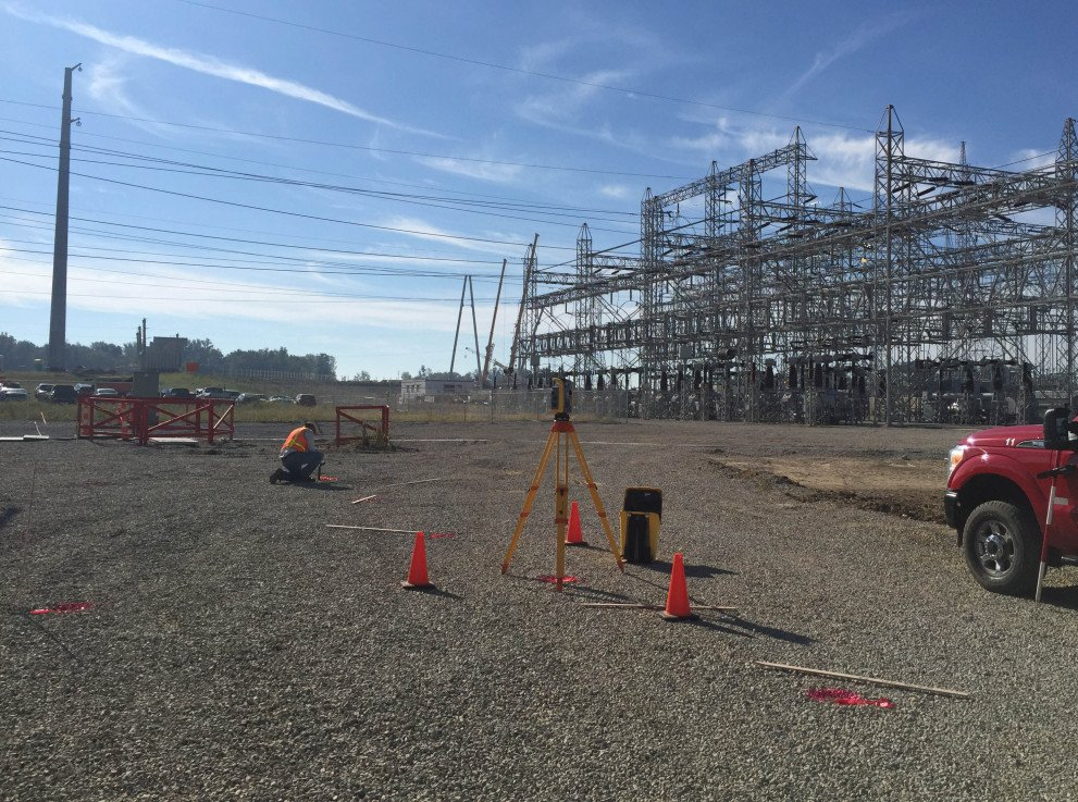 AEP Utilities transmission lines survey