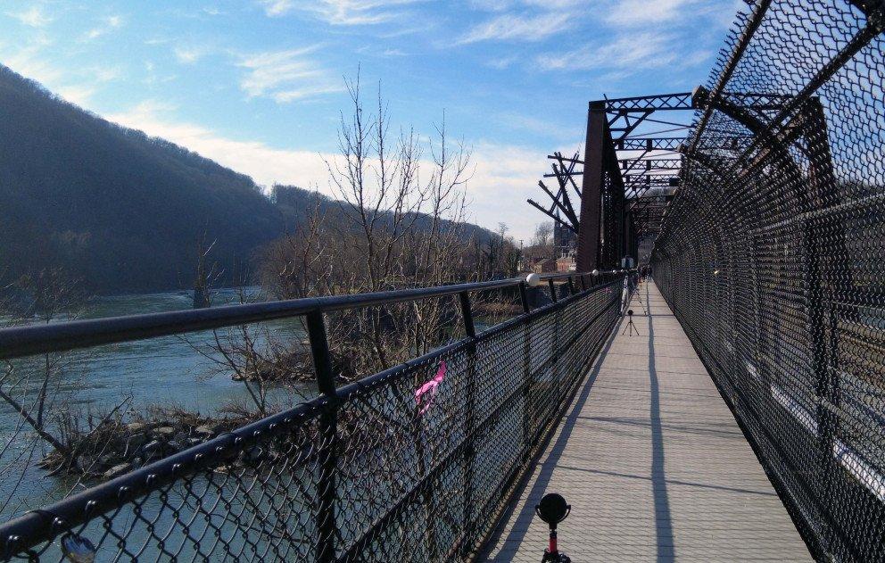 Bridge over Shenandoah and Potomac Rivers