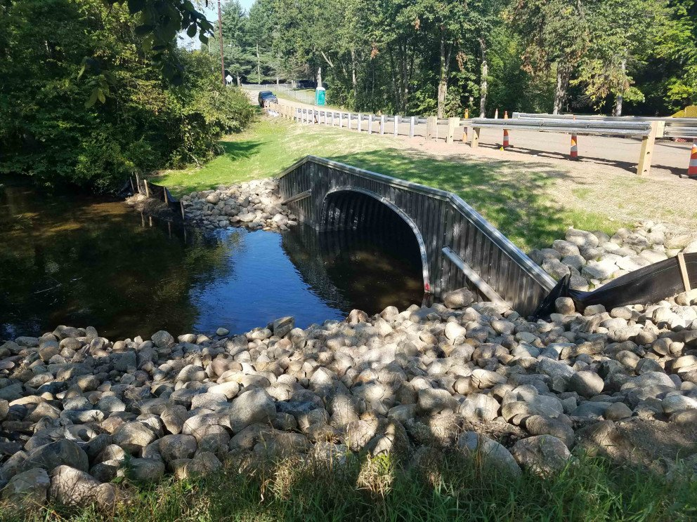 Bowne Road over Waubascon Creek