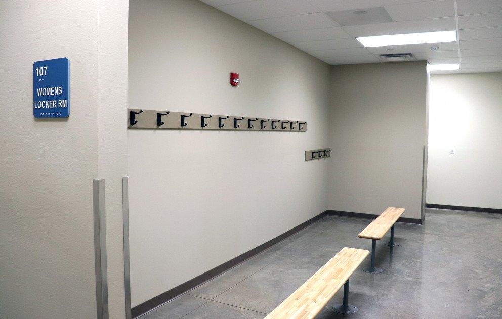 Brandywine Gym Locker Room