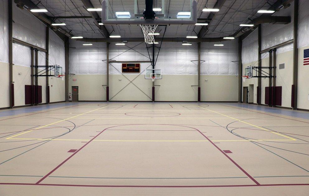 Brandywine Gym Court Wide View