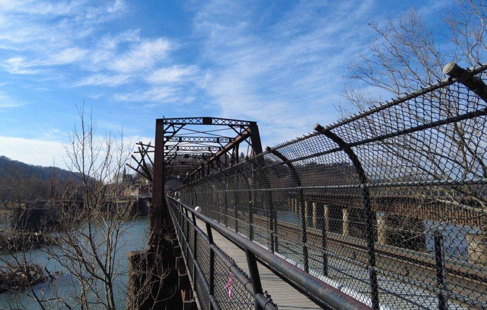 Harpers Ferry Bridges over Chesapeake Watershed