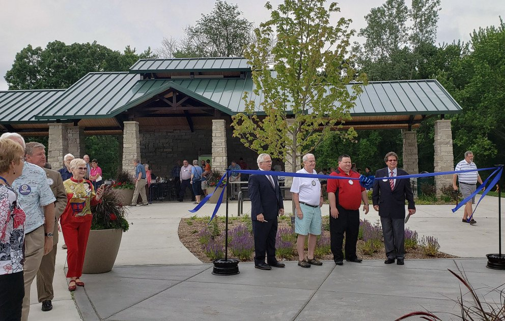 Portage Celery Flats Ribbon Cutting